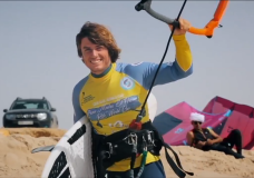 Victoria kite surfer finishes second at World Cup in Morocco