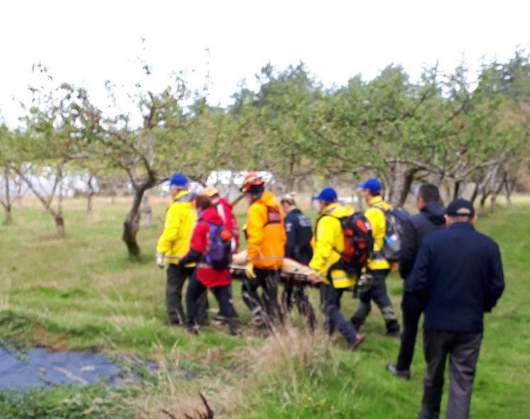 Missing woman located by Search and Rescue