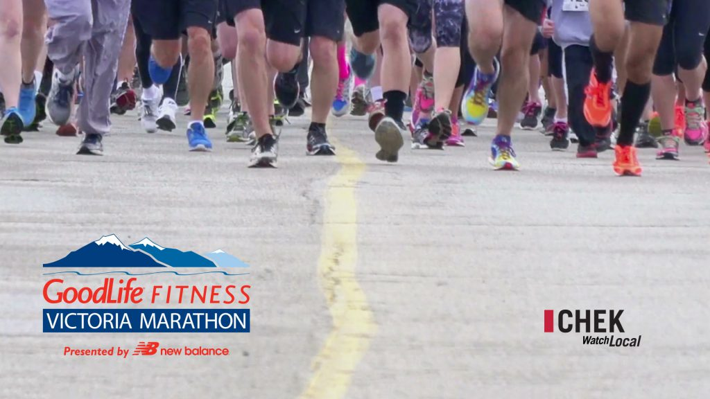 GoodLife Fitness Victoria Marathon: Live Video