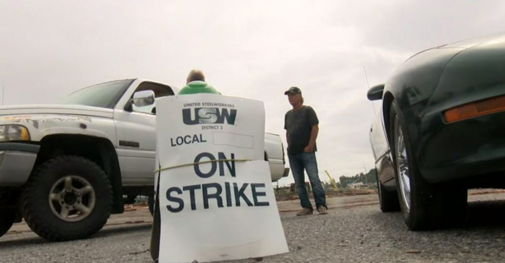 The Vancouver Island forestry strike started on July 1, 2019.