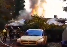 Nanaimo woman credits 'mothers intuition' for saving 4 kids from house fire
