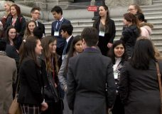 BC Youth Parliament gather for 91st session at Legislative Assembly