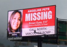 Billboards go up for two missing Indigenous women from Vancouver Island