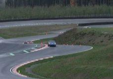 Vehicles race around the motorsport circuit in North Cowichan.