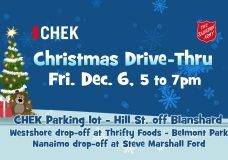 26th annual CHEK Christmas charity drive-thru is this Friday!