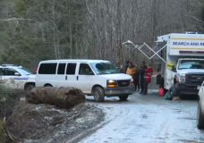 Scouts who were trapped during weekend camping trip near Sooke safely leave area