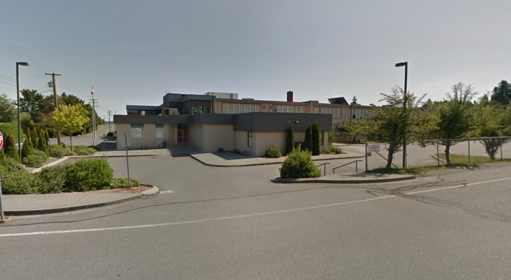Second fire in just over a week at Chemainus Secondary School