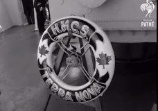The HMCS Terra Nova. Courtesy British Pathe.