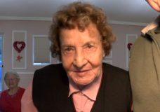 106-year-old Dorothy Adair in Chemainus.
