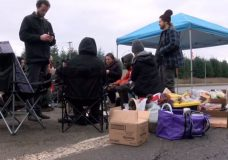 Wet'suwet'en supporters end Highway 19 protest early due to safety concerns