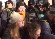 Victoria police investigating reports of assault at Wet'suwet'en protest at BC legislature