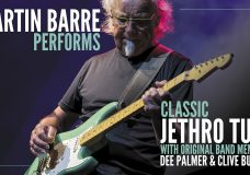 MARTIN BARRE PERFORMS CLASSIC JETHRO TULL with Original Members Dee Palmer and Clive Bunker