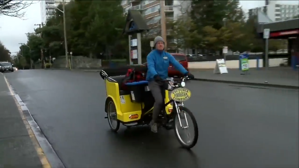 Pedicabs in Victoria