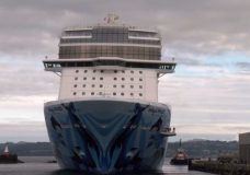 A cruise arrives in Victoria in this file photo.