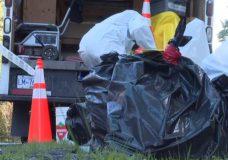 Asbestos cleanup in Metchosin