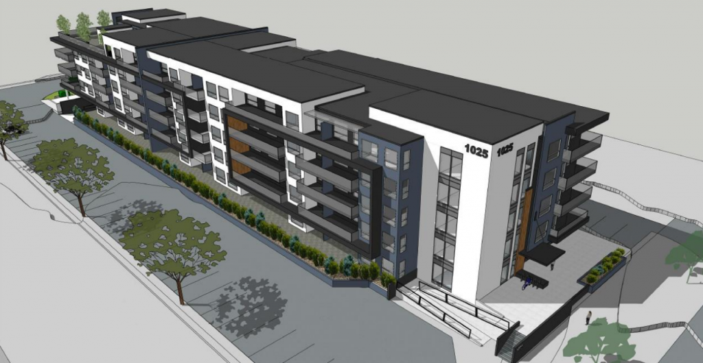 Vancouver Island company proposes 118-unit rental apartment building near downtown Courtenay
