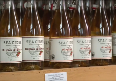 Sea Cider, made in Central Saanich