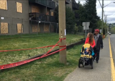 Campbell River family desperate for a home after a devastating apartment fire