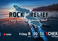 Rock for Relief on CHEK: Where are your dollars going?