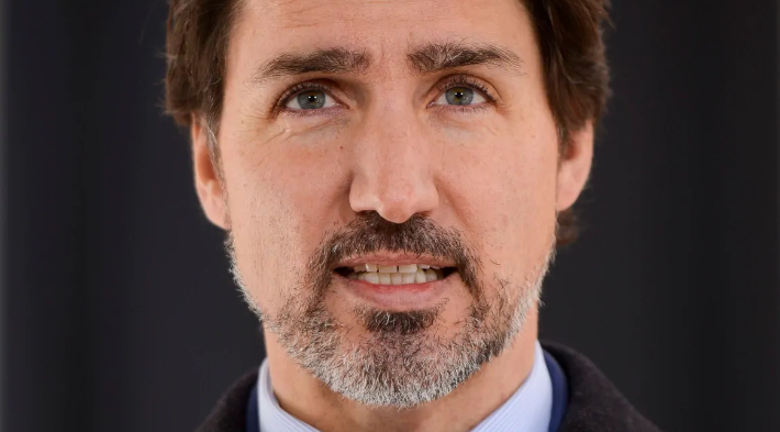 Prime Minister Justin Trudeau addresses Canadians on the COVID-19 pandemic from Rideau Cottage in Ottawa on Thursday, April 2, 2020. (THE CANADIAN PRESS). Photo courtesy of CBC