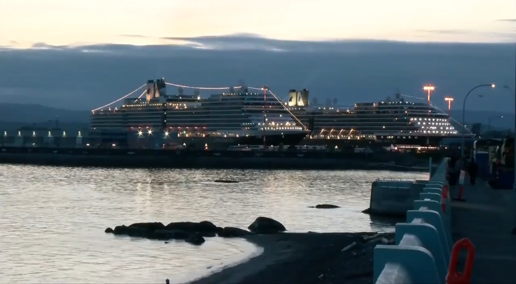 Cruise ships carrying 100 or more passengers banned in Canada until October