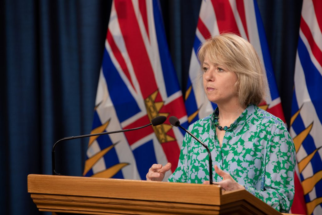 B.C. health officials report no new cases of COVID-19 on Vancouver Island