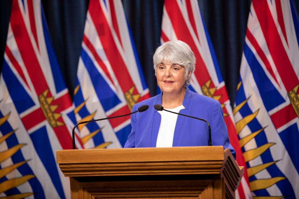 B.C. to give update on financial challenges of COVID-19