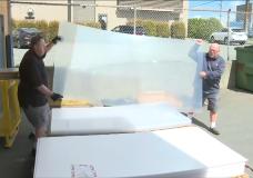 The plexiglass pivot: plastic protectors will soon be everywhere in B.C.