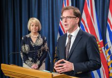 Health Minister Adrian Dix and Chief Provincial Health Officer Dr. Bonnie Henry provide an update on COVID-19 on June 1, 2020. (Province of BC)