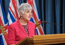 Carole James, Minister of Finance, announces a new order under the Emergency Program Act (EPA), that supports eligible B.C. businesses, protecting them from evictions amid COVID-19. (Province of BC)