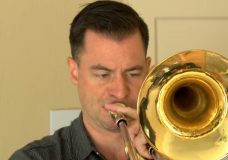 CHEK Upside: Local trombonist putting together community band medleys