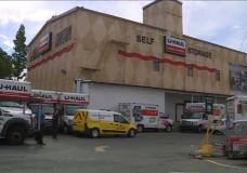 Victoria police arrest suspect in connection with suspicious U-Haul facility fire