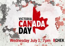 LIVE at 7 p.m. PDT: Victoria's Canada Day on CHEK