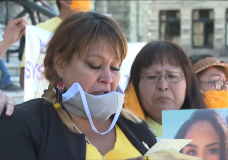 Mother of Chantel Moore attends healing gathering at B.C. legislature, says she wants justice