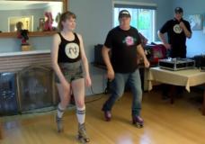 CHEK Upside: Victoria duo's online roller skating classes go global