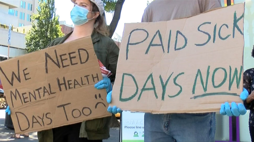 Advocacy group calls on B.C. government to provide permanent paid sick leave