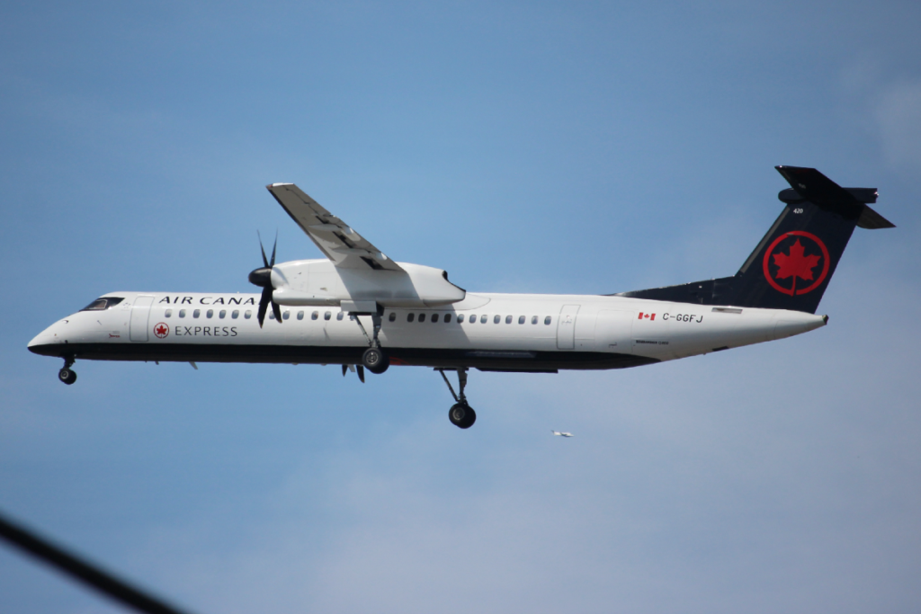 An Air Canada plane that landed at Victoria International Airport on July 13 had a case of COVID-19 on board.