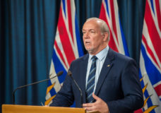 Horgan 'frustrated' healthcare workers haven't received pandemic pay, ministry says money expected in January