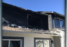 Family escapes housing complex fire in Port Alberni
