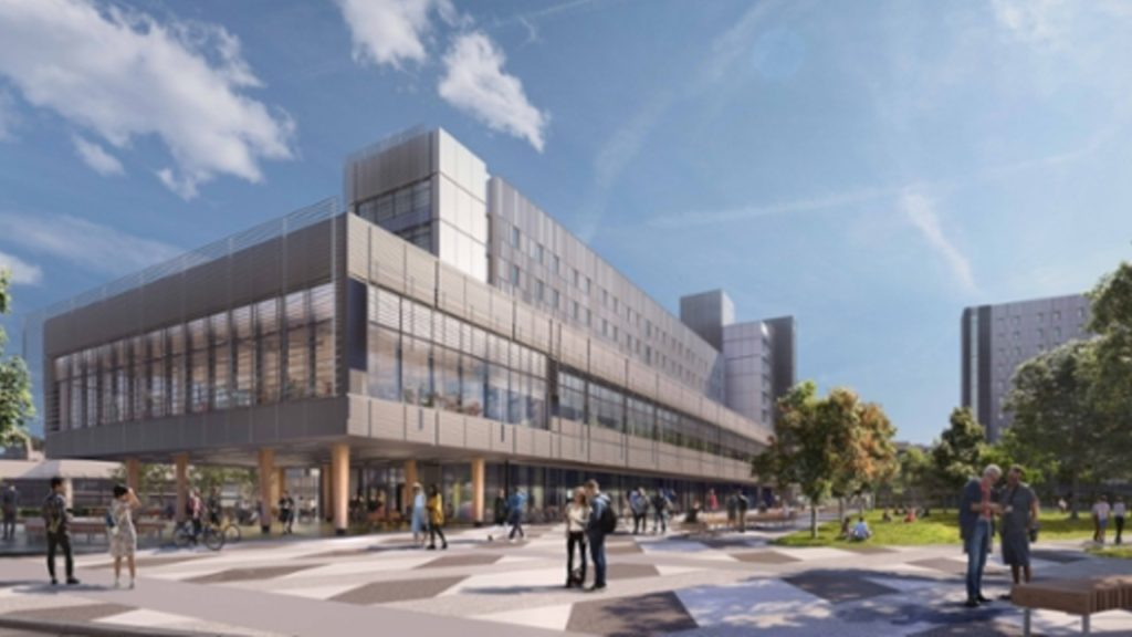 UVic breaks ground on new on-campus student residences, dining hall