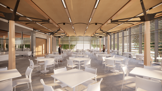 New on-campus dining hall