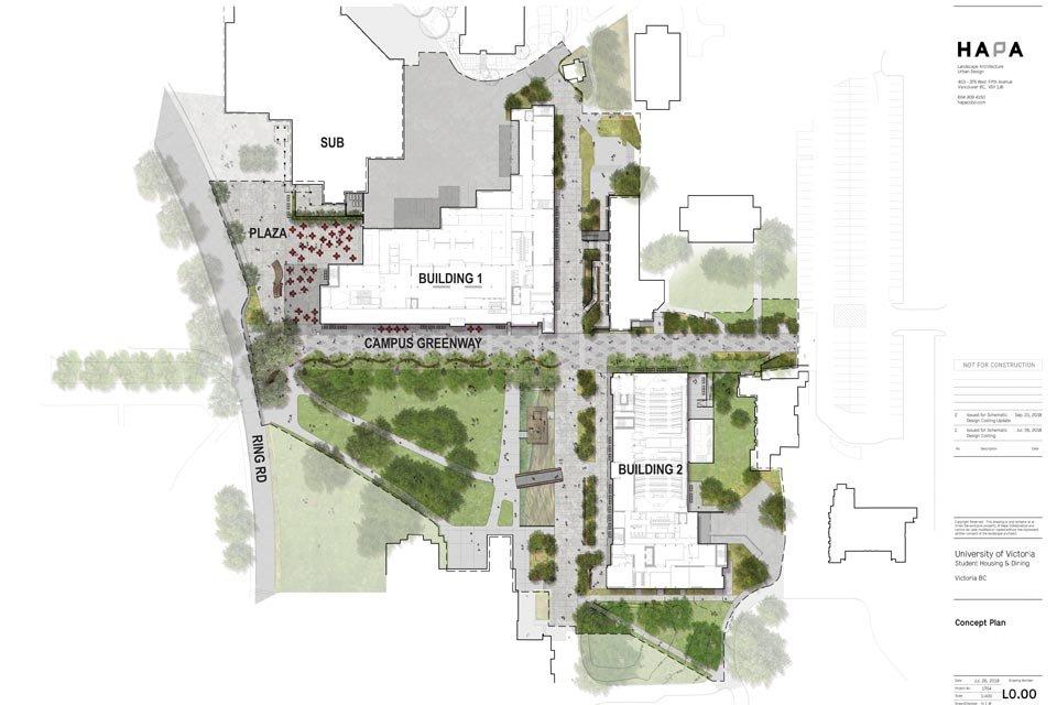 On-campus housing plan
