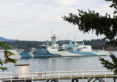 HMCS Regina and HMCS Winnipeg to sail past Victoria Thursday