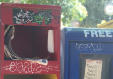 Newspaper boxes may soon be gone from downtown Victoria