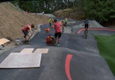 CHEK Upside: Jordie Lunn Memorial Bike Park nearing completion