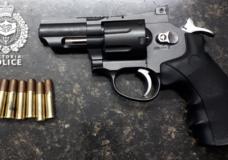 Victoria police seize another replica handgun