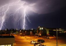 Residents capture incredible lightning storm illuminating Vancouver Island