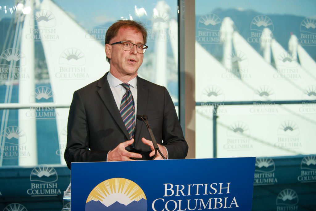 Minister of Health Adrian Dix provides an update on COVID-19 on Aug. 17, 2020 (Province of BC)