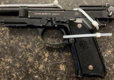 One of the replica firearms seized by VicPD on Aug. 18, 2020.