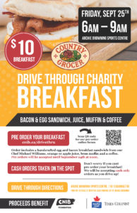 Drive Through Charity Breakfast @ Archie Browning Sports Centre